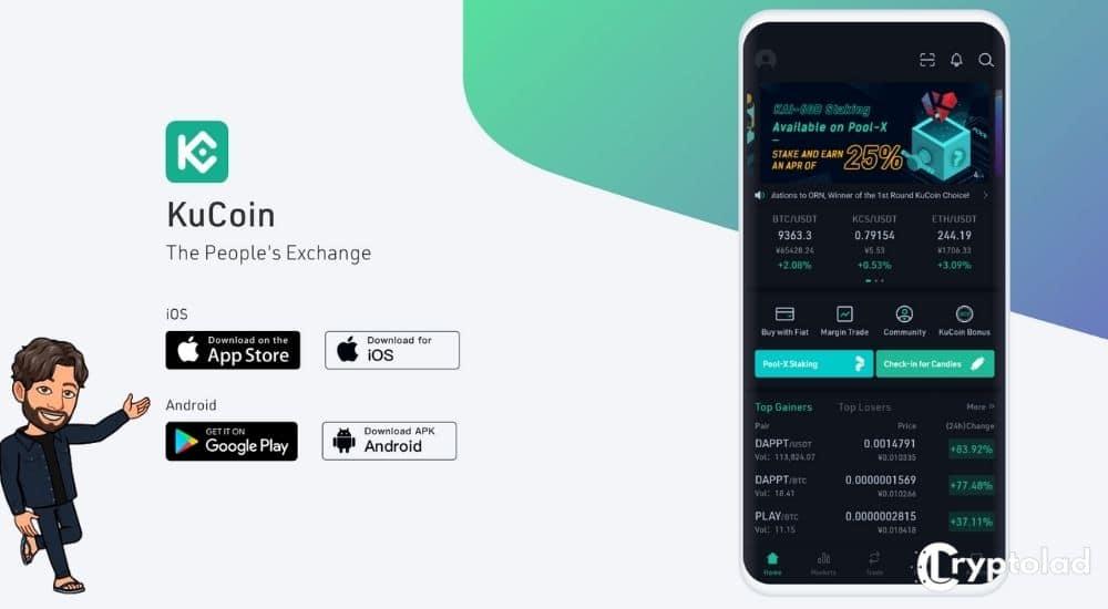 kucoin app - cryptolad