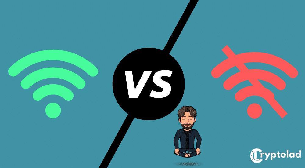 online vs offline staking