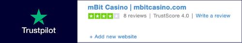 mBit Casino review trustpilot