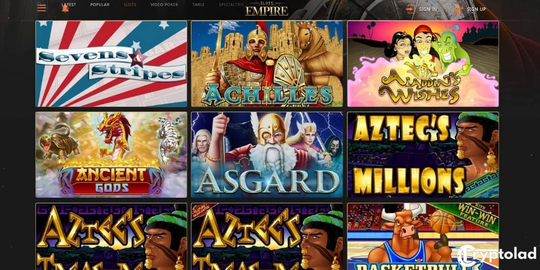 slots empire slot games