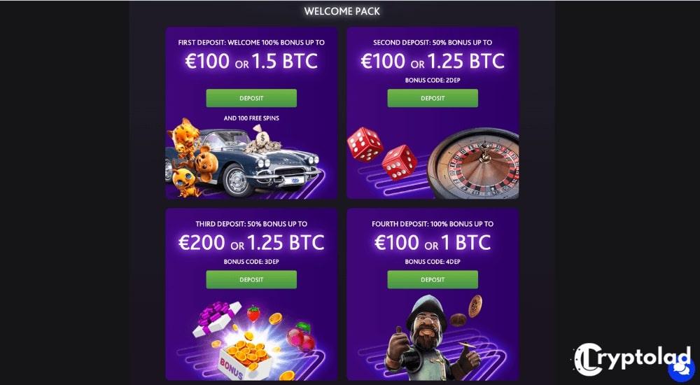 7bit deposit bonuses