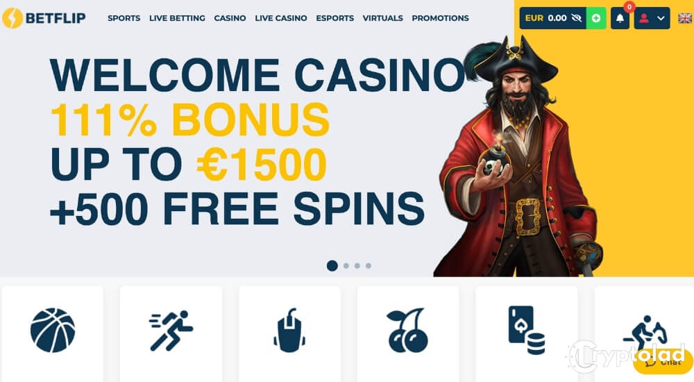 betflip home page