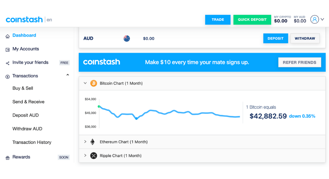 coinstash cryptocurrency trading