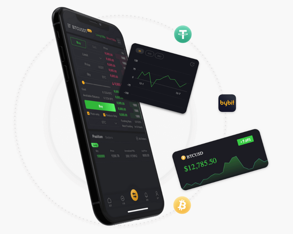 mobile trading bybit